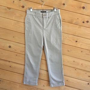 NYDJ Chino Khaki Cuffed Jeans Pants 6P